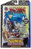 Sega Shadow & Silver ~3 Mini-Figures: Sonic The Hedgehog Modern Comic Book Pack Series (Exclusive Paint)