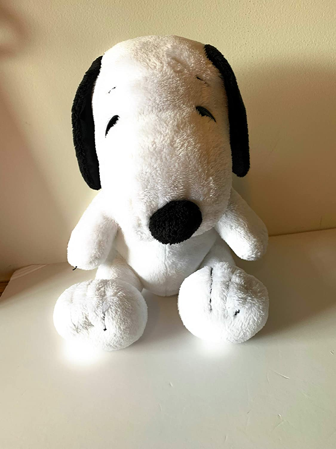 dog washable Weighted stuffed animal snoopy 3 lbs sensory toy