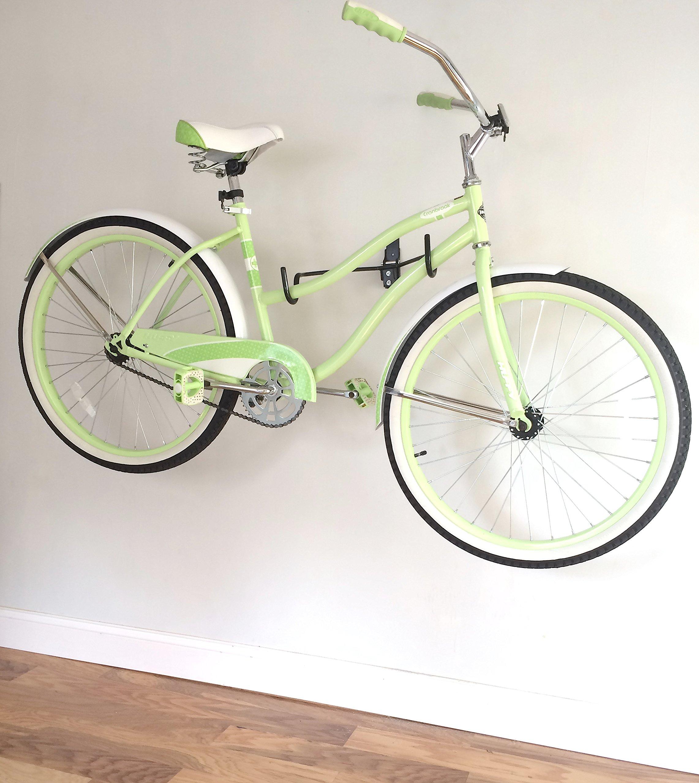 LifeStore Adjustable Tilt Wall Mount Bike Bicycle Storage Rack Hanger Hook by Coastal Provision (Image #2)