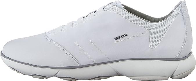 Geox Herren U Nebula B Niedrige Schuhe, Weiß, 39 EU: Amazon