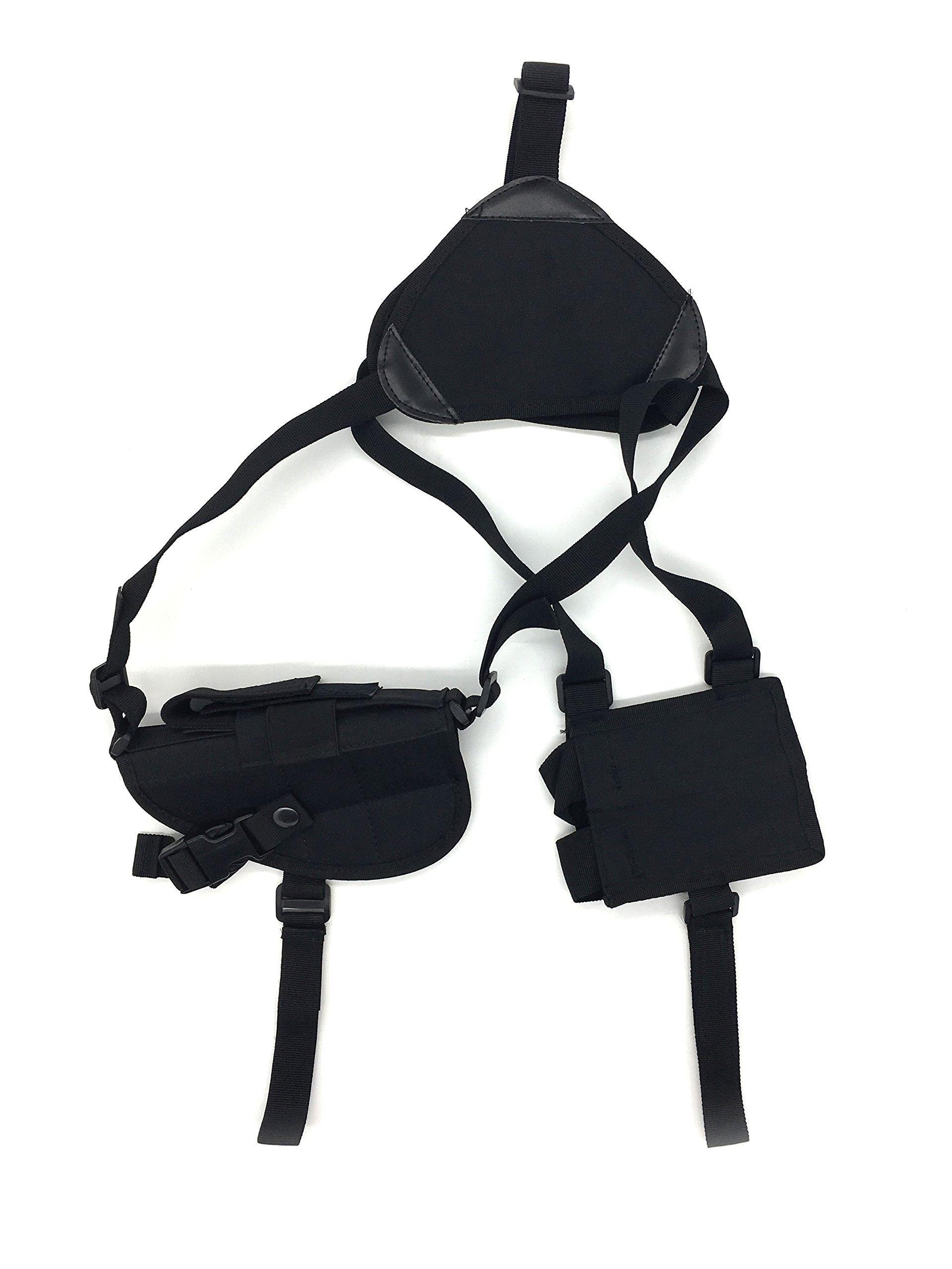 Silfrae Tactical Shotgun Rifle Scabbard Bag Shoulder Bag (Shoulder Holster-Black) by Silfrae