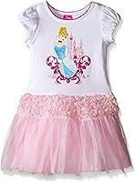 Disney Girls' Cinderella Short Sleeve Tutu Dress