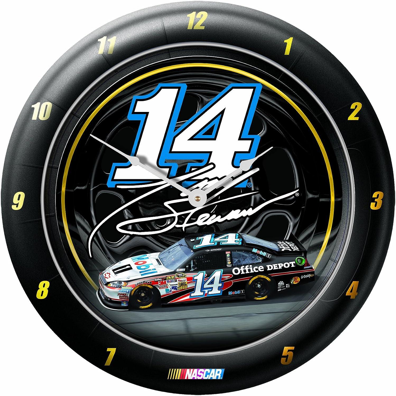 NASCAR Tony Stewart Game Time Clock