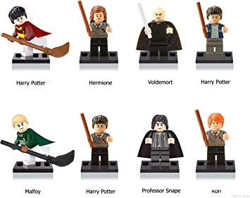 Harry Potter Mini Figure Trio Harry Ron Hermione Lego Compatible
