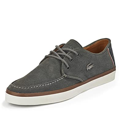 19fbab05d045be Lacoste Sevrin 2 LCR SRM Grey 47  Amazon.co.uk  Shoes   Bags