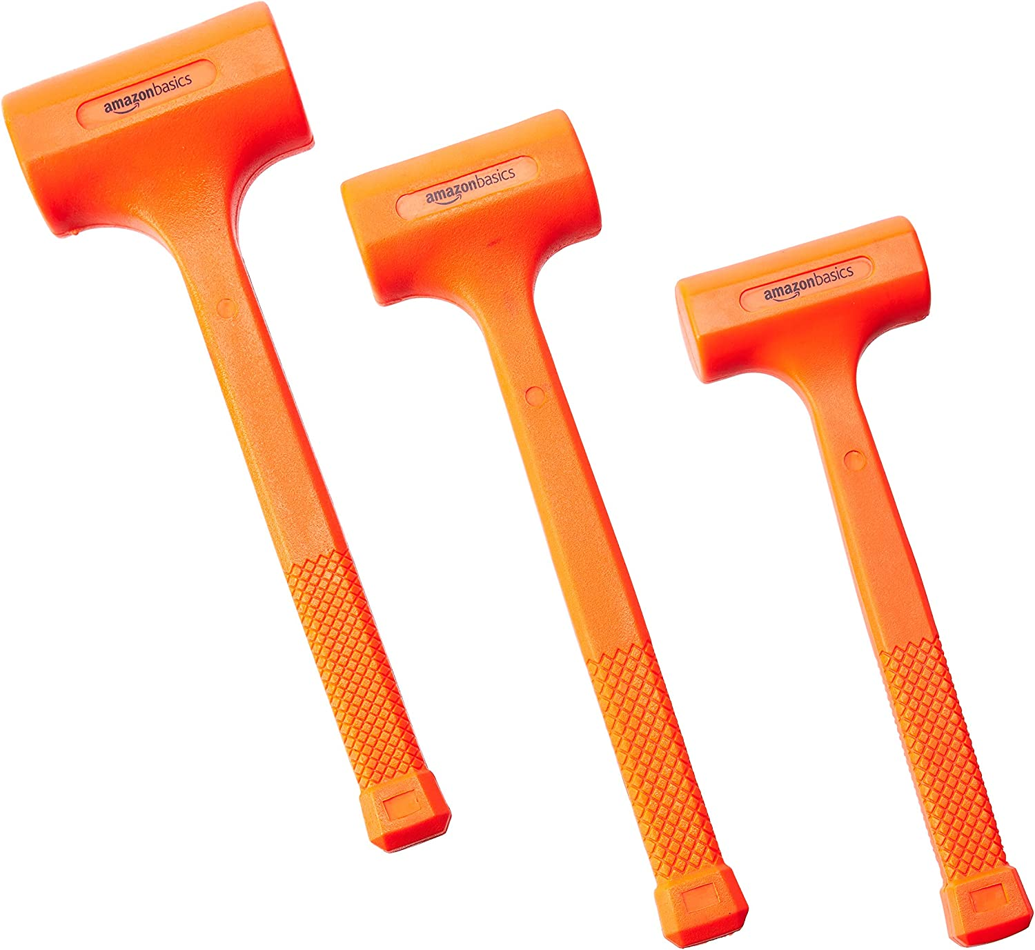 Amazonbasics Dead Blow Hammer Set 3 Piece 1 35 2 And 3 Lbs Amazon Com A dead blow hammer is a specialized mallet helpful in minimizing damage to the struck surface and in controlling striking force, with minimal rebound from the struck surface. amazonbasics dead blow hammer set 3 piece 1 35 2 and 3 lbs