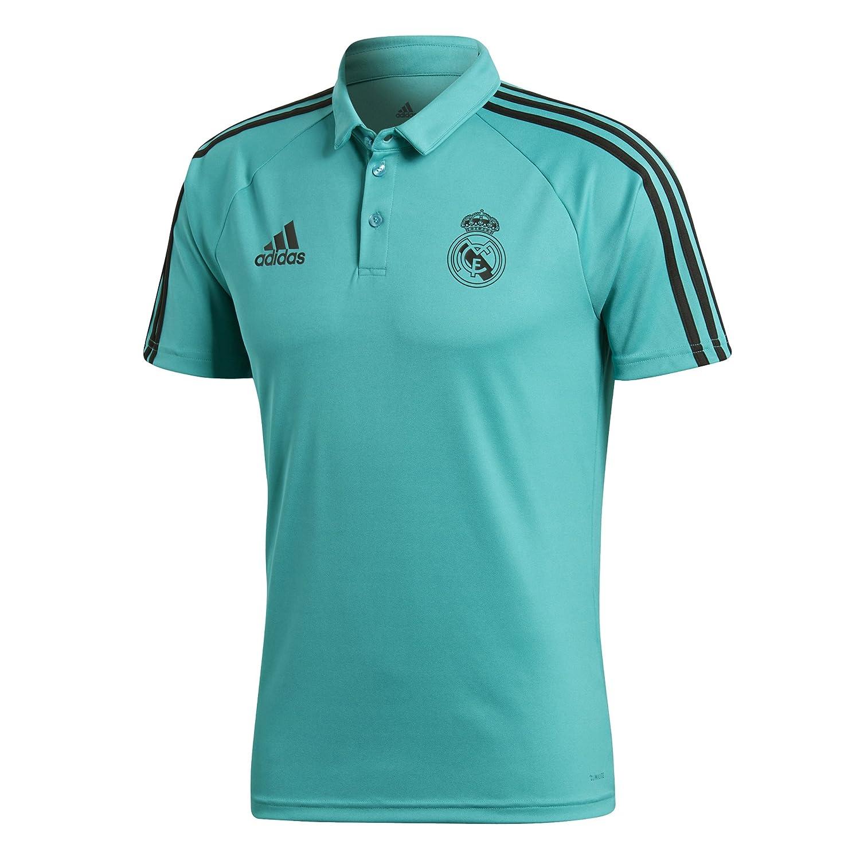 Adidas Herren Polokragen mit Knopfleisten Real Madrid Poloshirt