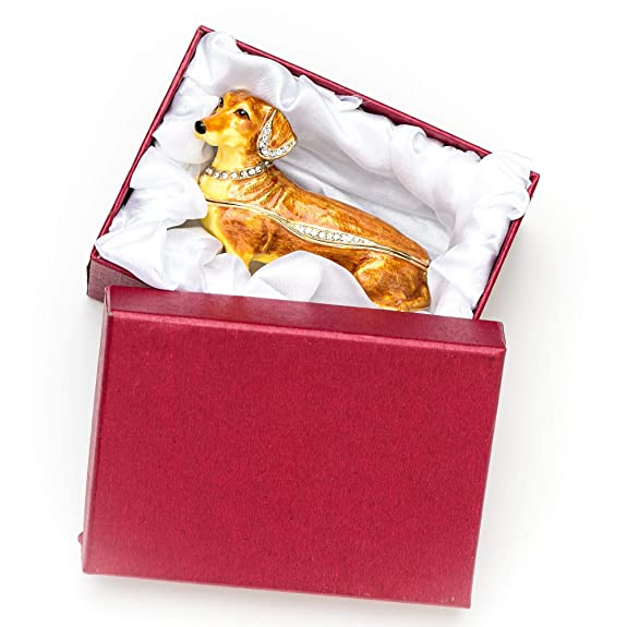 Amazon.com: Lilly Rocket Collectible Caja con Rhinestone ...