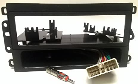 81N68gZ1LhL._SX463_ amazon com radio dash kit, wire harness and antenna adapter for Ford Radio Wiring Diagram at aneh.co