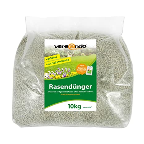 Fertilizante de césped a partir de tan solo 1,29 €/kg – marca