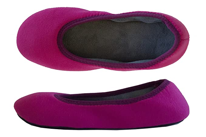 1d3ef1d9f7a Isotoner Women s Jersey Selena Ballerina with 360 Comfort Design Slipper