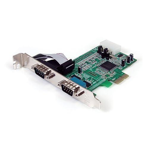 46 opinioni per Startech.Com Scheda Seriale PCI Express Nativa a 2 Porte RS-232 con 16550 UART,