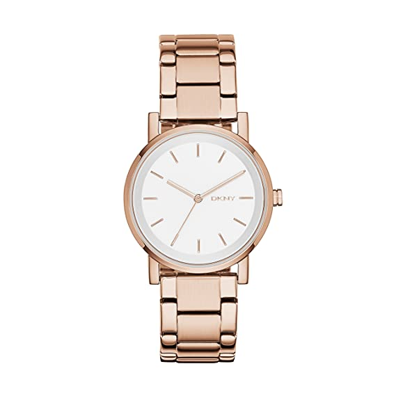 DKNY Reloj analogico para Mujer de Cuarzo con Correa en Acero Inoxidable NY2344: Amazon.es: Relojes