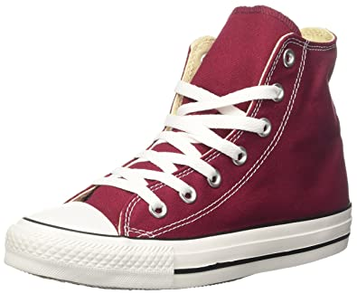 All Star Hi, Baskets Mixte Adulte, Rouge (Vinaccia), 37.5 EUConverse