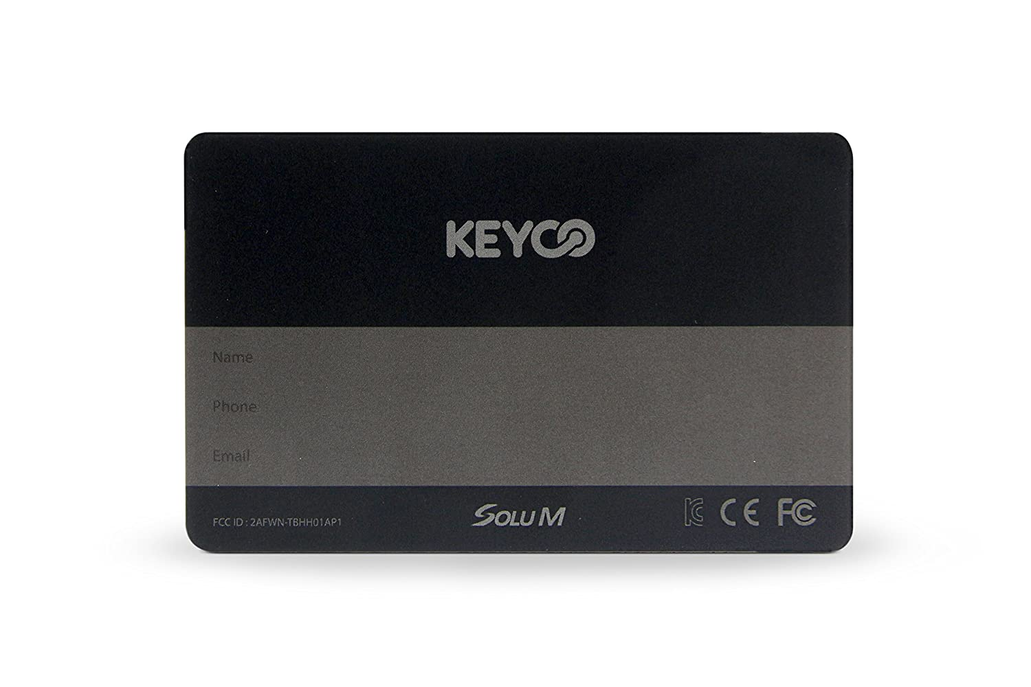 Blue KEYCO Card Wallet and Cell Phone Tracker