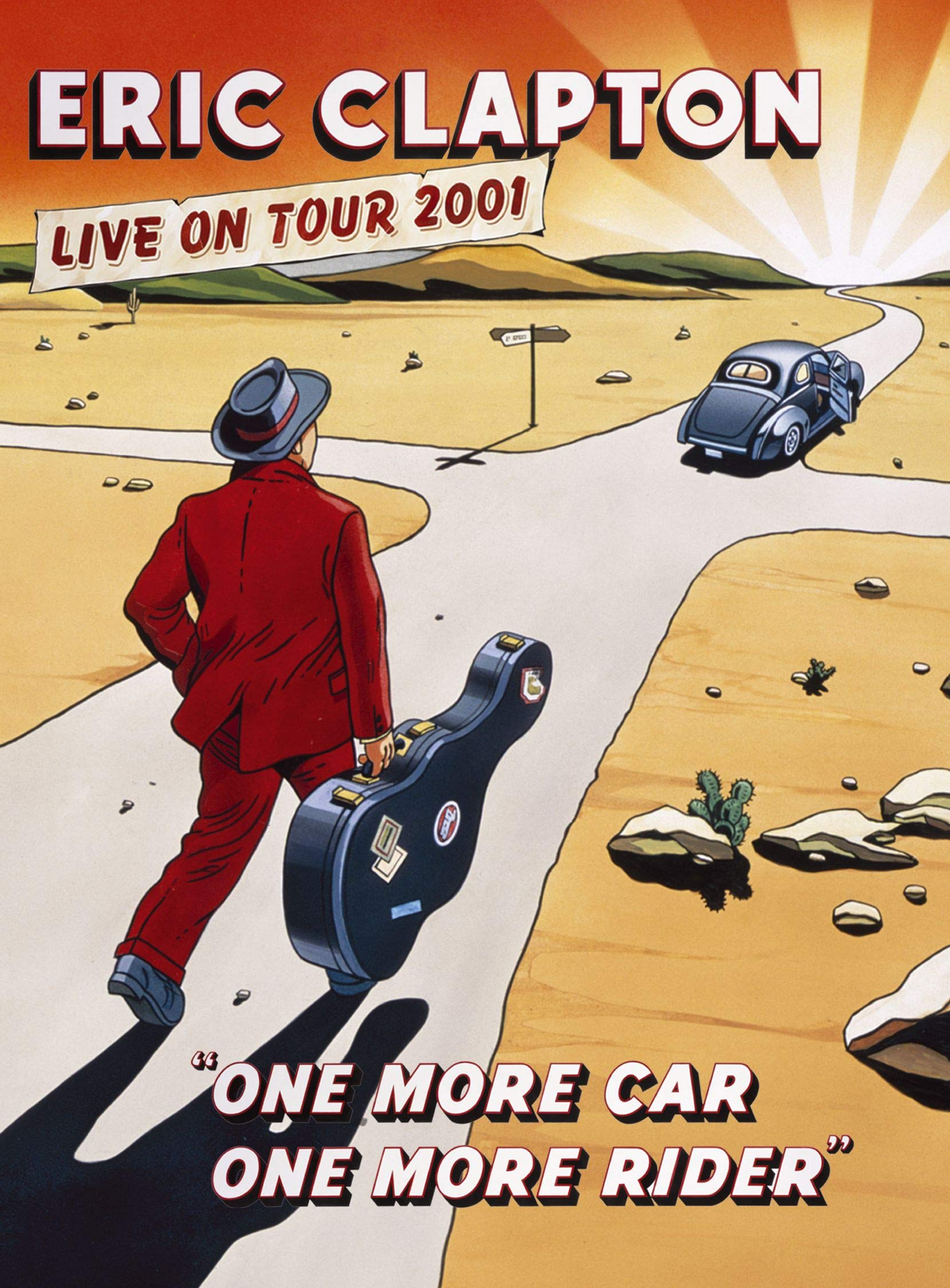 Eric Clapton - One More Car One More Rider by WEA DES Moines Video