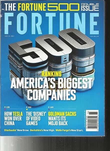 Amazon.com: FORTUNE MAGAZINE, THE FORTUNE 500 DOUBLE ISSUE ...