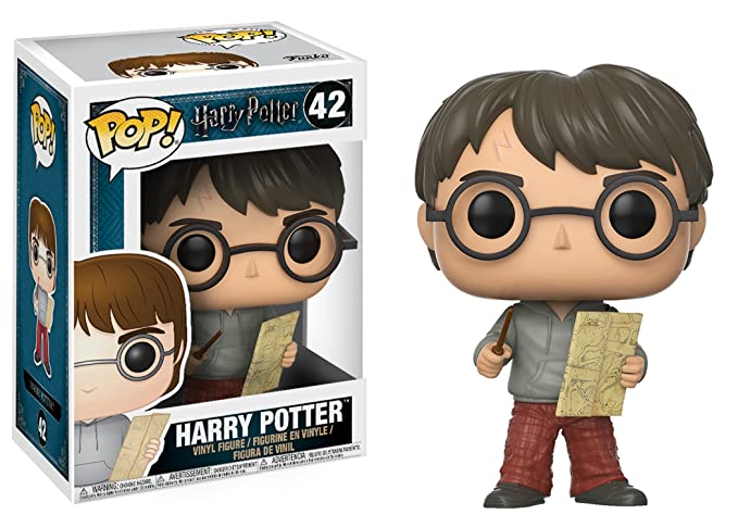 Amazon.com: Funko POP Series 4-harry Potter W/Marauders Map ...