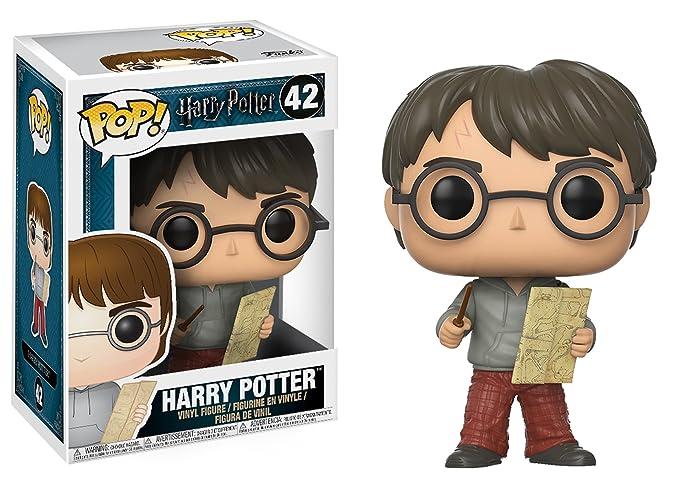Amazon.com: Funko POP Series 4-harry Potter W/Marauders Map ...