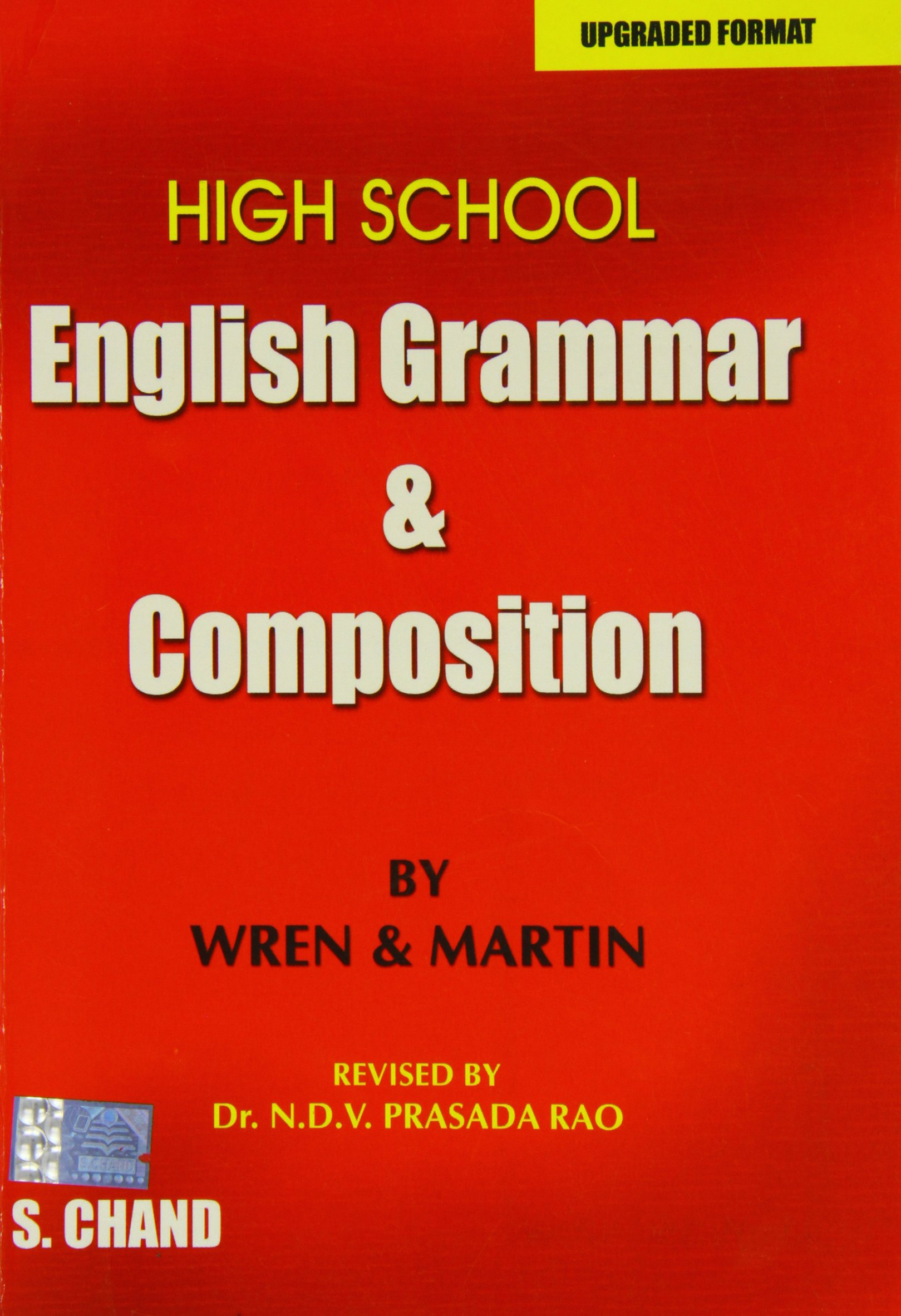 High school english grammar and composition p c wren h martin n d v prasada rao 0689724573702 amazon com books