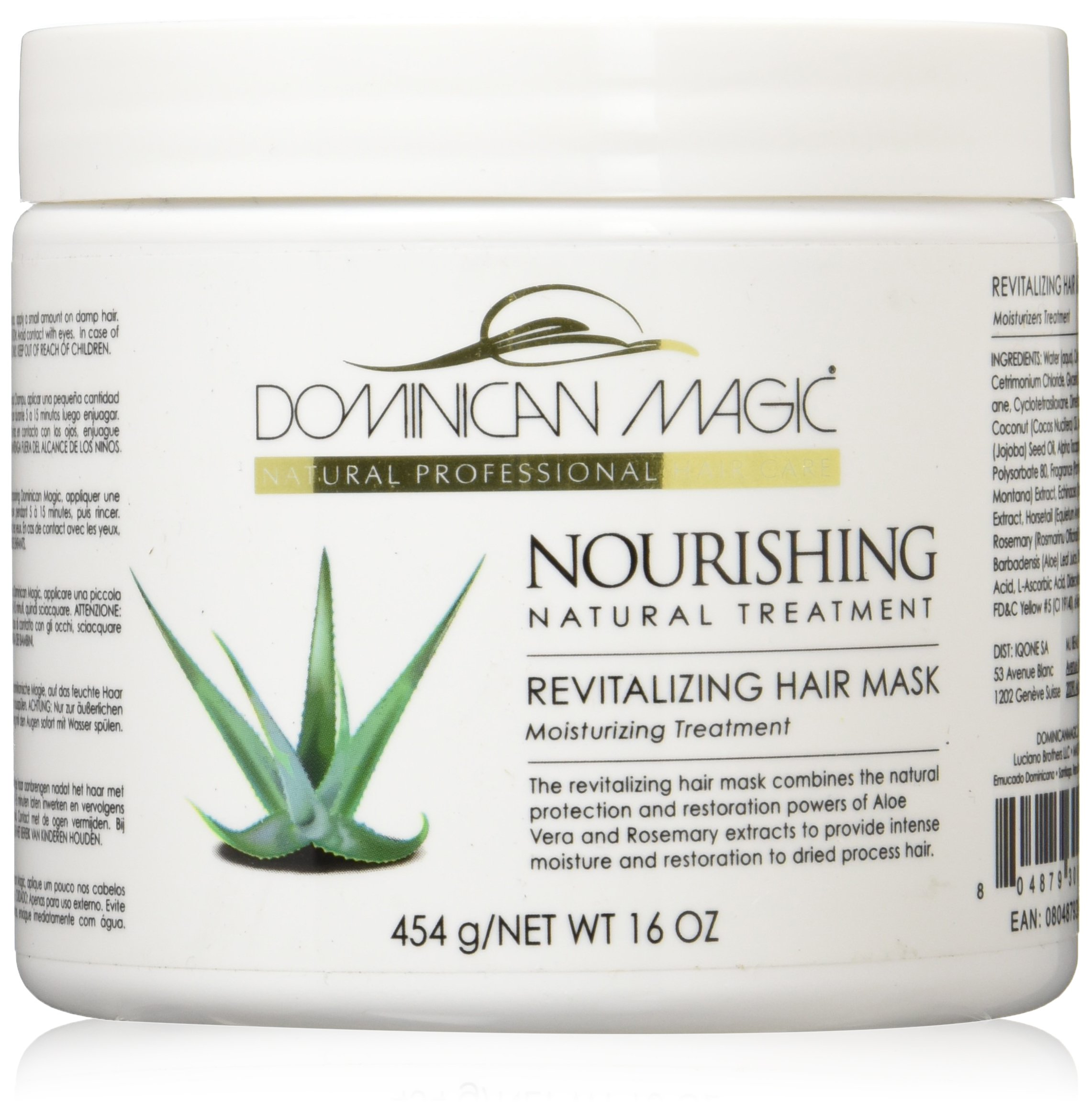 Dominican Magic Revitalizing Hair Mask, 16 Ounce