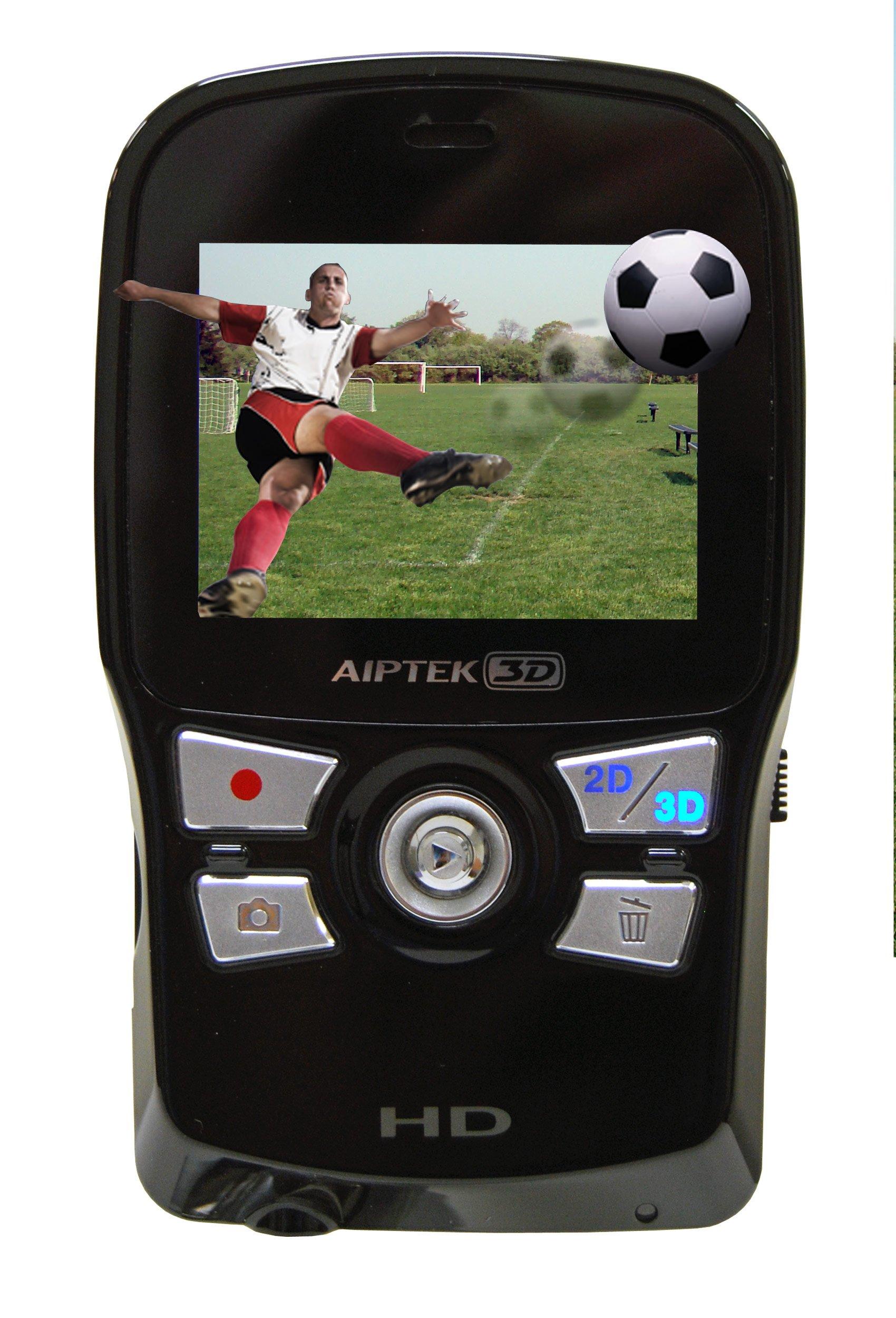 Aiptek 3D-HD High Definition 3D Camcorder (Black/Black)