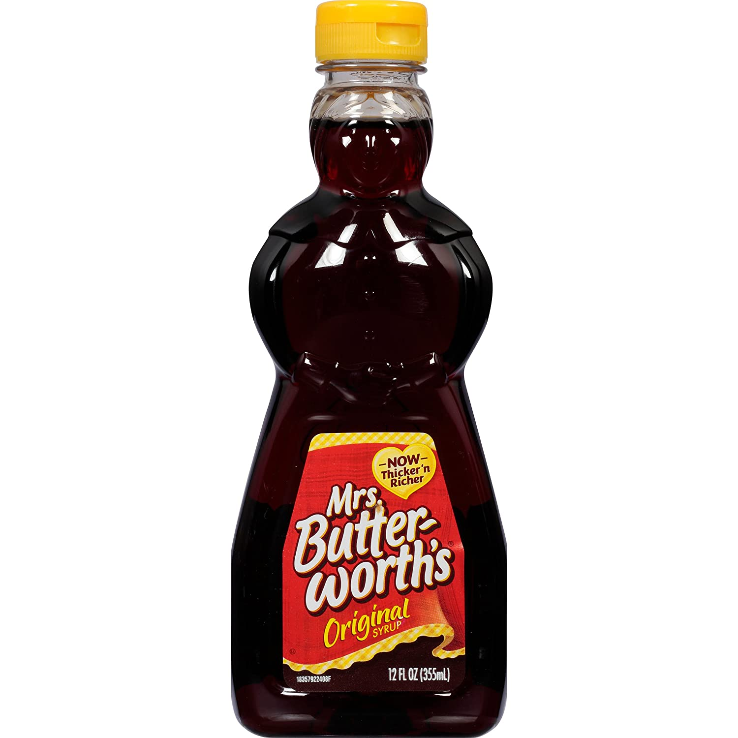 Mrs. Butterworth's Original Thick and Rich Pancake Syrup, 12 oz.