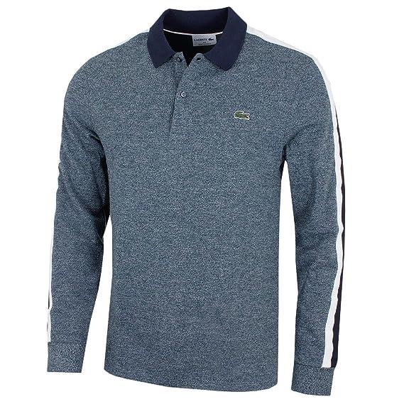 24ca8f40 Lacoste - Men's Long Sleeves Polo - PH9396: Amazon.co.uk: Clothing