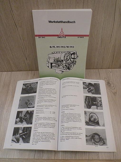 Werkstatthandbuch Deutz Motor 912 F4L912