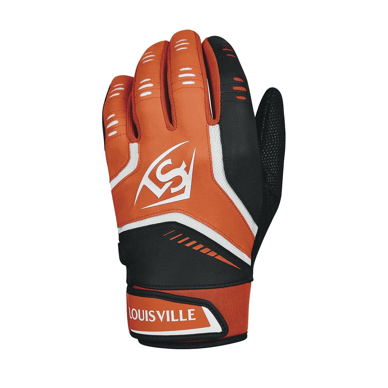 (Small, Adult, Orange) - Adult, Louisville Slugger Omaha Adult Louisville Adult Batting Gloves B0741JP6S7, 本匠村:ebbcb60c --- cgt-tbc.fr