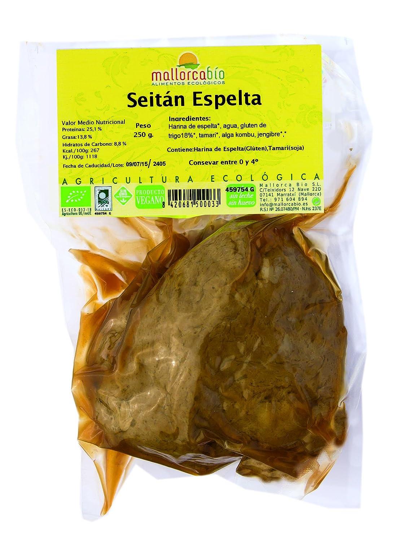 SEITAN ESPELTA 250 GR BIO: Amazon.es: Alimentación y bebidas
