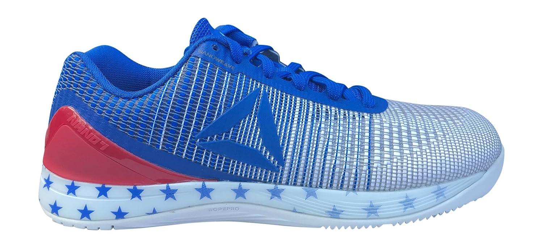 Reebok Men's Crossfit Nano 7.0 Cross-Trainer Shoe B076T957TF 10 D(M) US Liberty White Vital Blue Primal Red