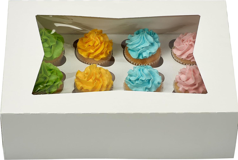 Bakery Box Cupcake Boxes Set of 8 Gift Box