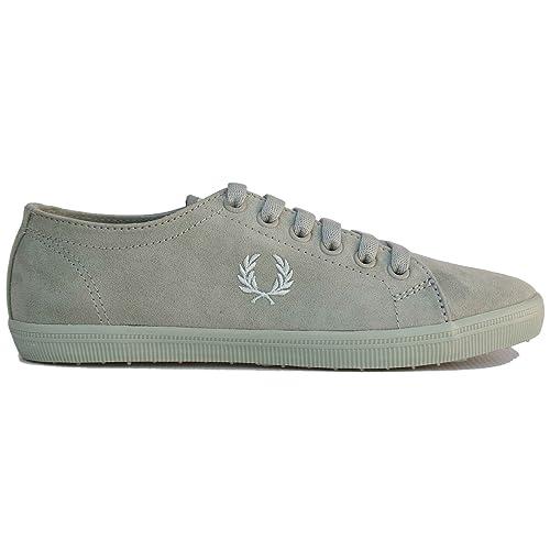 Fred Perry Kingston B3314W Rosa y Verde Microfibra. Zapatillas Deportivas. Mujer.: Amazon.es: Zapatos y complementos