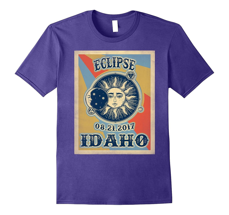 Vintage Solar Eclipse Idaho 2017 Tshirt