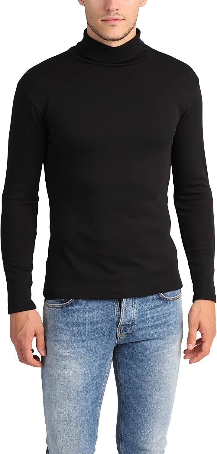 Lower East Camiseta con cuello alto Slim Fit para hombre
