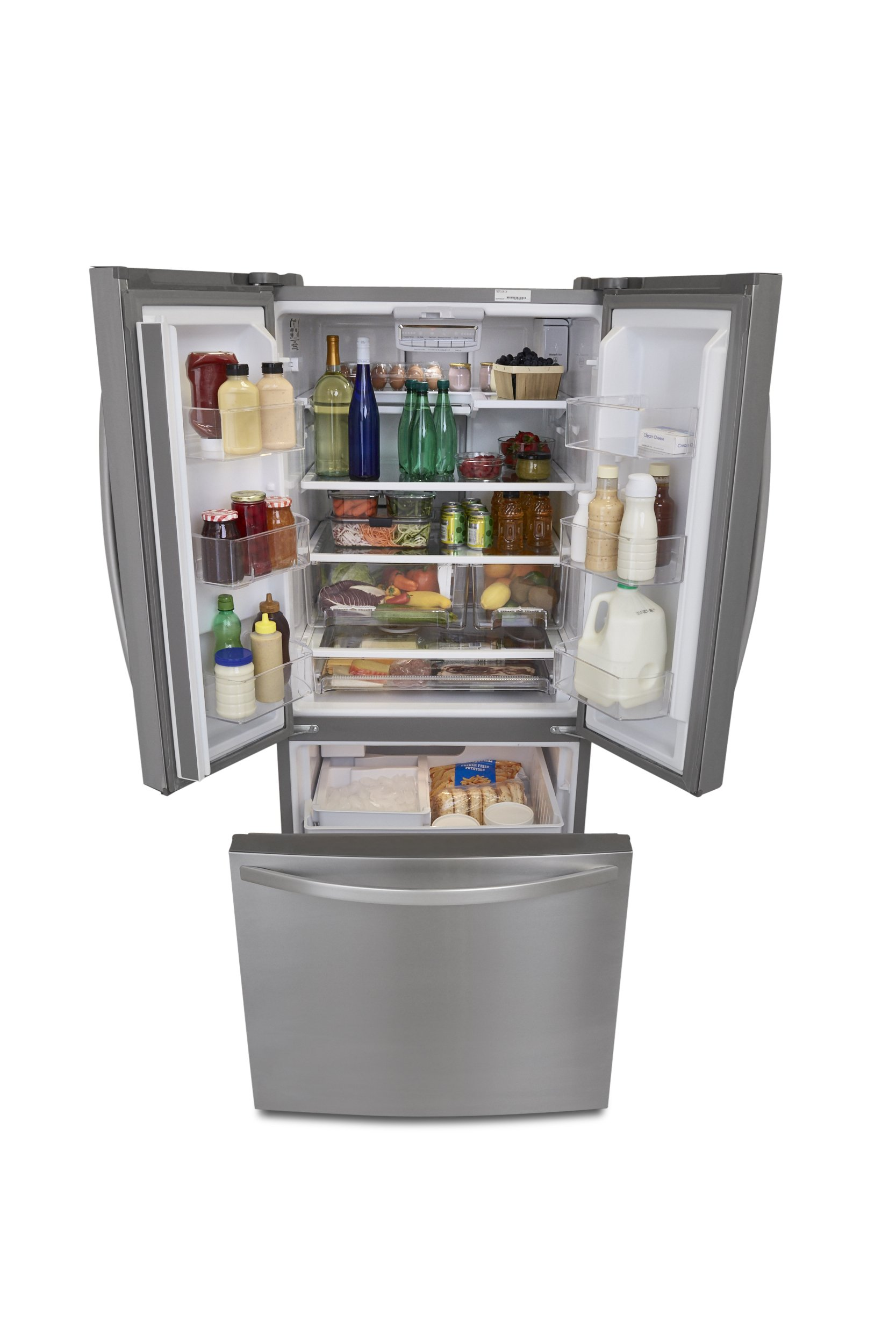 Kenmore 73003 19.5 cu. ft. Non-Dispense French Door Bottom-Freezer Refrigerator in Stainless Steel, includes delivery and hookup (Available in select cities only) by Kenmore (Image #5)
