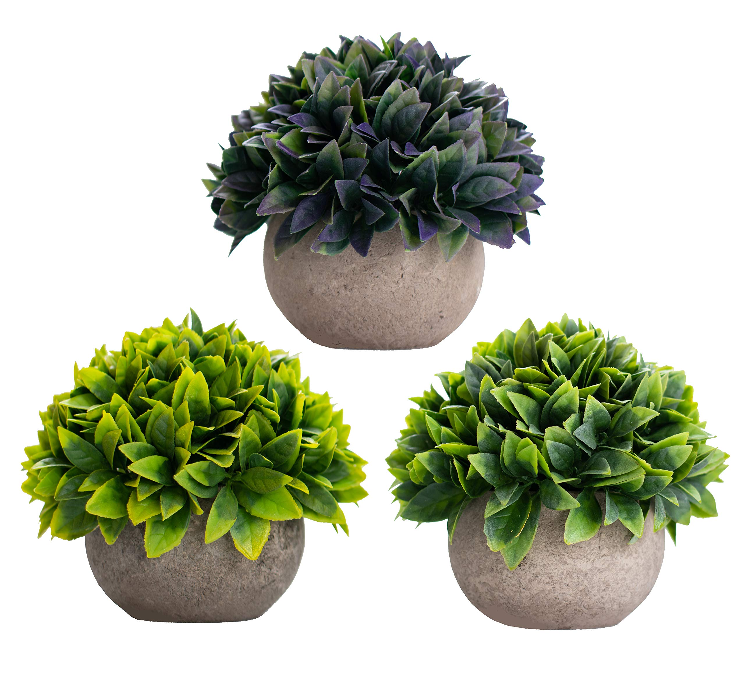 Artificial Fake Plants Decor - Small Faux Succulent Cactus Plant Tree Decorations For Rustic Home, Wall, Bedroom, Bathroom, Farmhouse, Mantle Shelf, Living Room, Kitchen, House, Terrarium, Indoor Pot