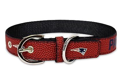 6bc657c678f Pets First NFL New England Patriots Premium Dog Collar, Limited Edition,  Size Medium.