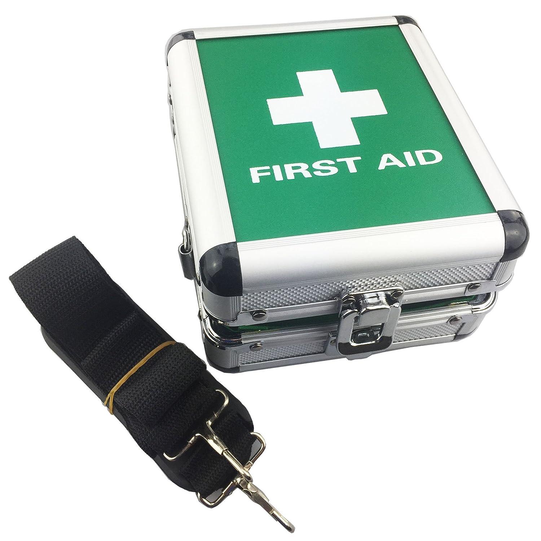 Small Aluminium First Aid Box - Empty JFA Medical