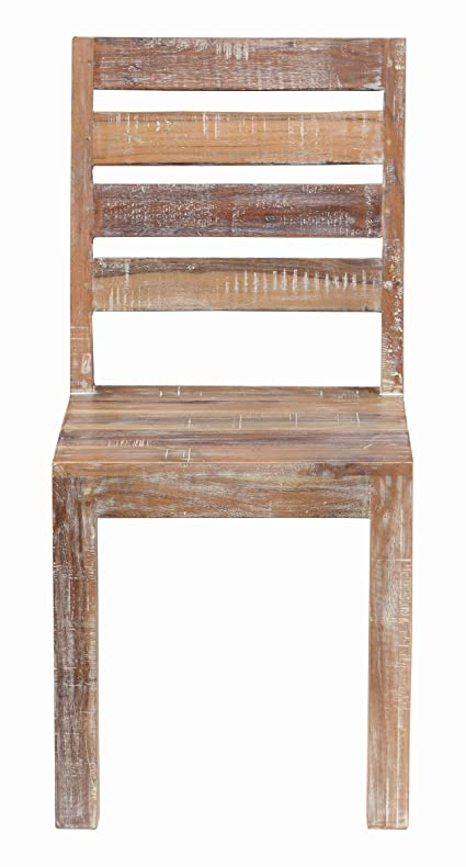 Kosas Home A53001249Z Harbor Chair, Hand Distressed In Lime Wash