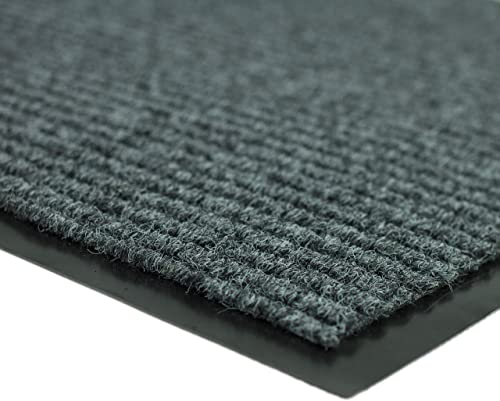 Entrance Door Mat 2 Pack for Home and Business Entrance Heavy Duty Anti-Slip Rubber Edged Entry Mat