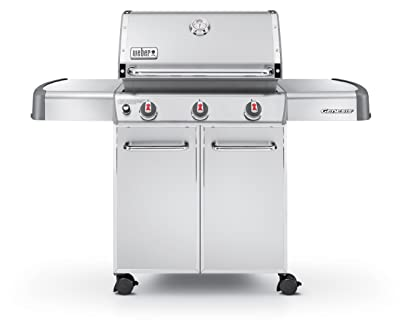 Weber Genesis 6550001 S-310 Stainless-Steel 637-Square-Inch 38,000-BTU Liquid-Propane Gas Grill