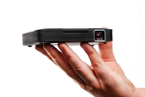 Amazon.com: Miroir HD Projector MP150W, LED Lamp, Built in Rechargeable Battery, 720p and HDMI and Wireless Input: Electronics