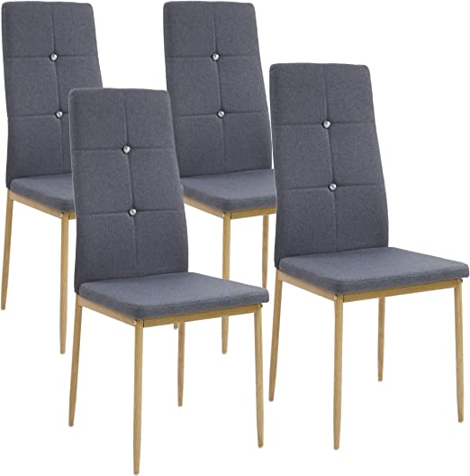 sillas de comedor antracita