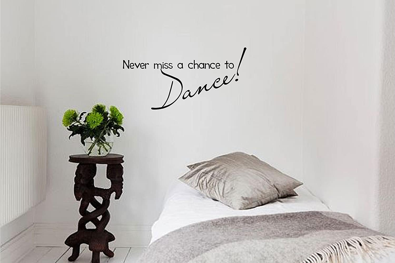 Amazon Never Miss A Chance To Dance Vinyl Wall Art