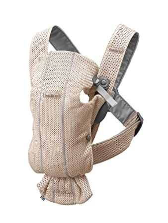 3D Mesh Pearly Pink BABYBJ/ÖRN Baby Carrier Mini