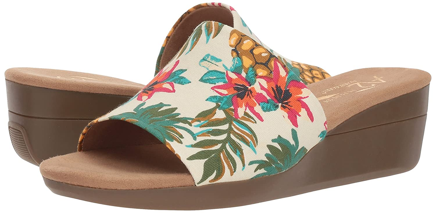 Aerosoles Women's Sunflower Slide Sandal Multi B078WFXHNV 5 B(M) US|Bone Multi Sandal 54c857