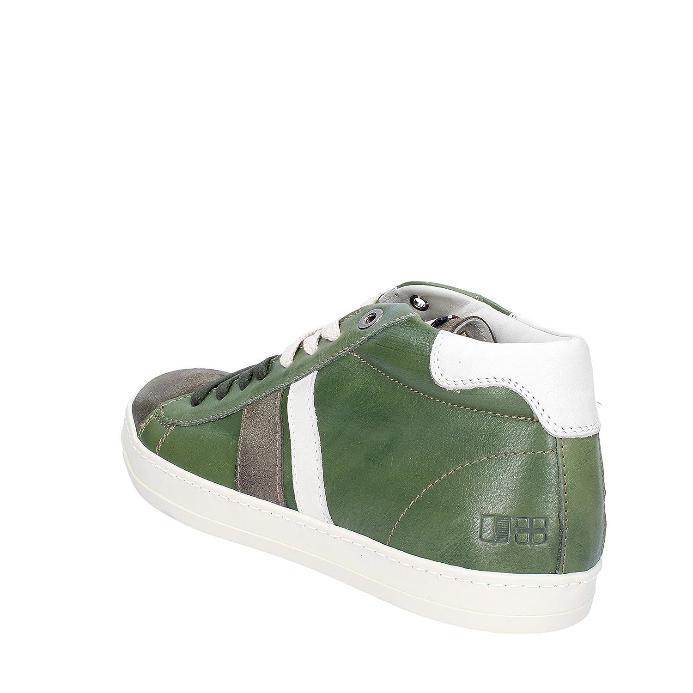 D'Acquasparta Sneakers Hombre 41 EU Verde Cuero/Gamuza: Amazon.es: Zapatos  y complementos