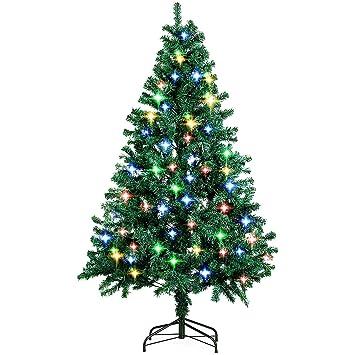 Fertiger Künstlicher Weihnachtsbaum.Amzdeal Weihnachtsbaum 180 Cm Ca 850 Astspitzen Künstlicher Weihnachtsbaum Inklusive Christbaumständer Hochwertig Mit Schwer Entflammbarem